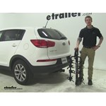 Swagman Titan Hitch Bike Racks Review - 2015 Kia Sportage