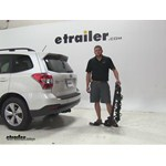 Swagman Titan Hitch Bike Racks Review - 2015 Subaru Forester