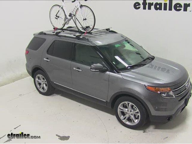 Best ford explorer roof bike racks etrailer swagman upright roof mounted bike rack review 2014 ford explorer sciox Image collections