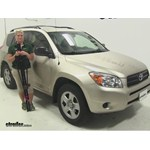 Swagman Upright Roof Bike Racks Review - 2007 Toyota RAV4
