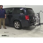 Swagman XTC4 Hitch Bike Racks Review - 2014 Dodge Grand Caravan