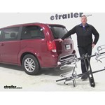 Swagman XTC4 Hitch Bike Racks Review - 2015 Dodge Grand Caravan