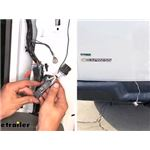 Video review tekonsha custom fit trailer wiring 118392