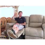 Video review thomas payne heritage dual reclining rv loveseat 195 000024 025