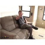 Video review thomas payne heritage dual reclining rv loveseat 195 000086 087
