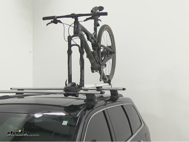 thule roof bike rack instructions