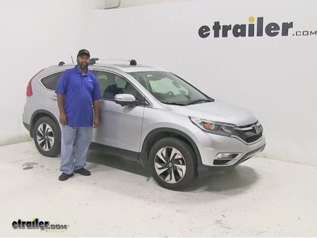 Thule Roof Rack For 2016 Honda Cr V Etrailer Com