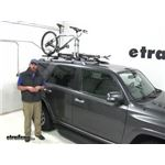 Video review thule aeroblade edge roof rack system th7503 th7503