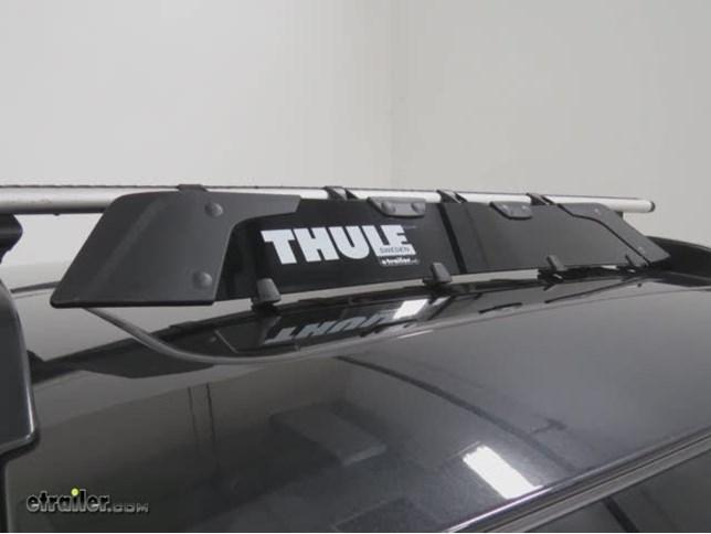thule ski rack instructions