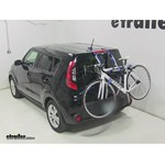 Thule Archway Trunk Mount Bike Rack Review - 2014 Kia Soul