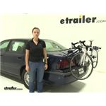 Thule Archway Trunk Bike Racks Review - 2001 Chevrolet Impala