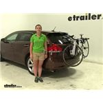 Thule Archway Trunk Bike Racks Review - 2009 Toyota Venza
