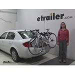 Thule Archway Trunk Bike Racks Review - 2010 Chevrolet Cobalt