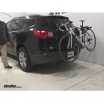 Thule Archway Trunk Bike Racks Review - 2012 Chevrolet Traverse