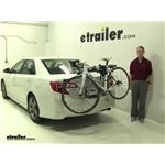 Thule Archway Trunk Bike Racks Review - 2012 Toyota Camry