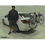 Thule Archway Trunk Bike Racks Review - 2013 Honda Civic