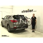 Thule Archway Trunk Bike Racks Review - 2013 Hyundai Santa Fe