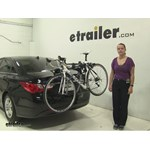 Thule Archway Trunk Bike Racks Review - 2013 Hyundai Sonata