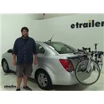 Thule Archway Trunk Bike Racks Review - 2014 Chevrolet Sonic