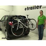 Thule Archway Trunk Bike Racks Review - 2014 Chevrolet Spark