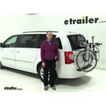 Thule Archway Trunk Bike Racks Review - 2014 Chrysler Town and Country
