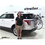 Thule Archway Trunk Bike Racks Review - 2014 Ford Explorer
