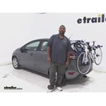 Thule Archway Trunk Bike Racks Review - 2014 Ford Fiesta