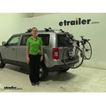 Thule Archway Trunk Bike Racks Review - 2014 Jeep Patriot