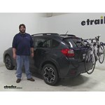Thule Archway Trunk Bike Racks Review - 2014 Subaru XV Crosstrek