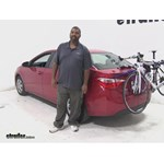 Thule Archway Trunk Bike Racks Review - 2014 Toyota Corolla