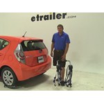 Thule Archway Trunk Bike Racks Review - 2014 Toyota Prius c