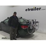 Thule Archway Trunk Bike Racks Review - 2015 Chevrolet Cruze