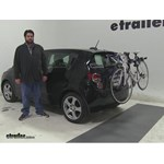 Thule Archway Trunk Bike Racks Review - 2015 Chevrolet Sonic