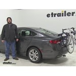 Thule Archway Trunk Bike Racks Review - 2015 Chrysler 200