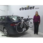 Thule Archway Trunk Bike Racks Review - 2015 Dodge Dart