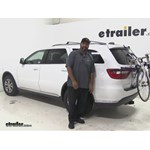 Thule Archway Trunk Bike Racks Review - 2015 Dodge Durango