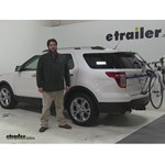 Thule Archway Trunk Bike Racks Review - 2015 Ford Explorer