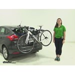 Thule Archway Trunk Bike Racks Review - 2015 Ford Focus