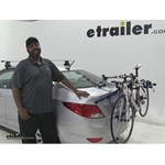 Thule Archway Trunk Bike Racks Review - 2015 Hyundai Accent
