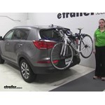 Thule Archway Trunk Bike Racks Review - 2015 Kia Sportage
