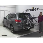 Thule Archway Trunk Bike Racks Review - 2015 Nissan Pathfinder