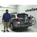 Thule Archway Trunk Bike Racks Review - 2015 Subaru Outback Wagon