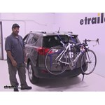 Thule Archway Trunk Bike Racks Review - 2015 Toyota RAV4