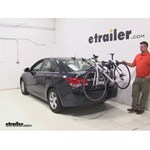 Thule Archway Trunk Bike Racks Review - 2016 Chevrolet Cruze Limited