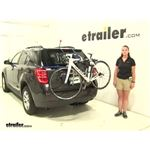 Thule Archway Trunk Bike Racks Review - 2016 Chevrolet Equinox