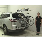 Thule Archway Trunk Bike Racks Review - 2016 Chevrolet Traverse