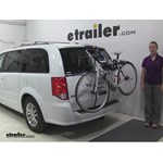 Thule Archway Trunk Bike Racks Review - 2016 Dodge Grand Caravan