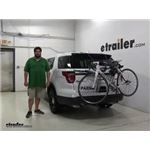Thule Archway Trunk Bike Racks Review - 2016 Ford Explorer