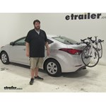 Thule Archway Trunk Bike Racks Review - 2016 Hyundai Elantra