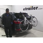 Thule Archway Trunk Bike Racks Review - 2016 Hyundai Santa Fe